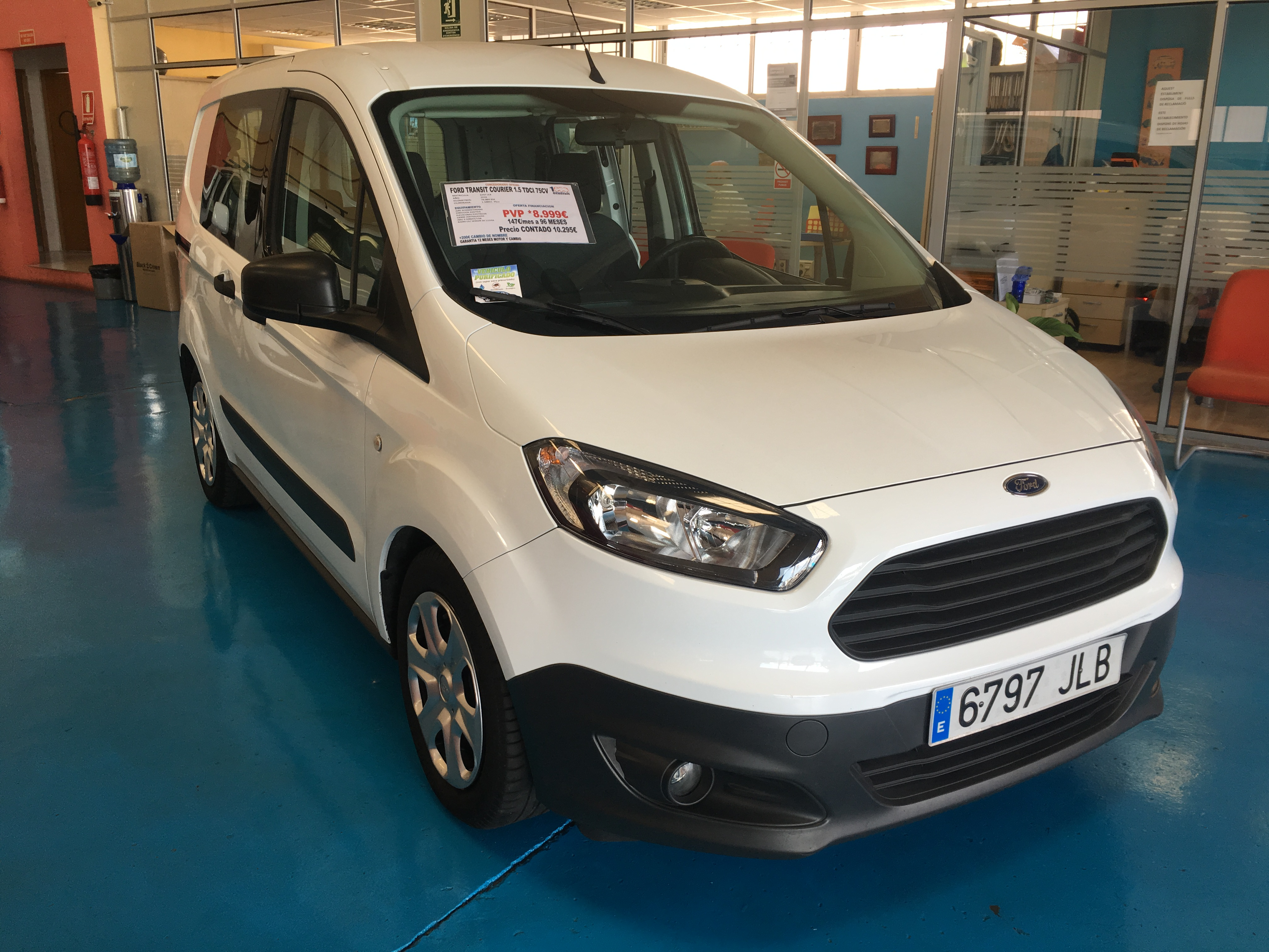FORD TRANSIT COURIER 1.5 TDCI 75CV